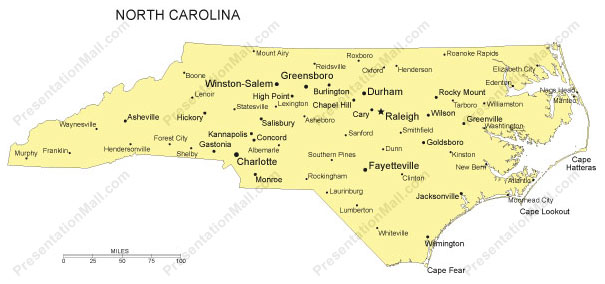 Jenna Dempsey NC Map ThingLink - Map of north carolina with cities