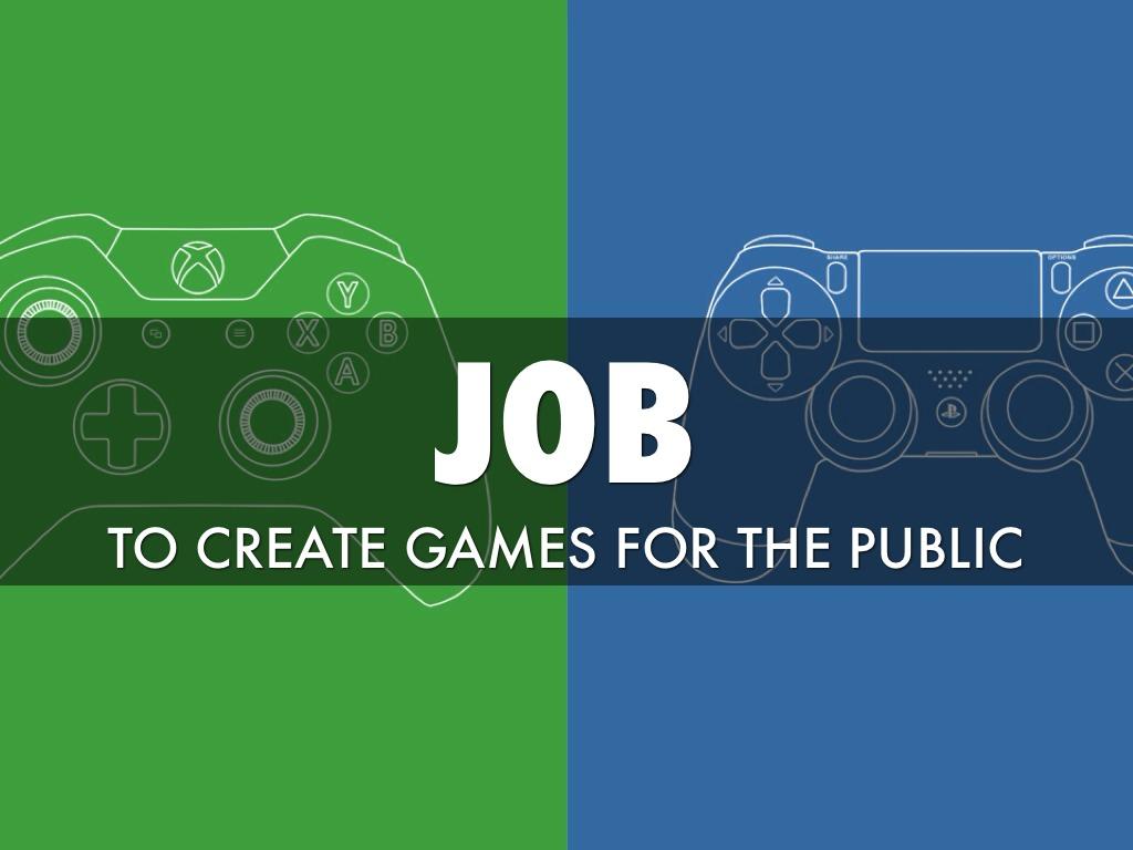 Game Developer - Video game designer working conditions