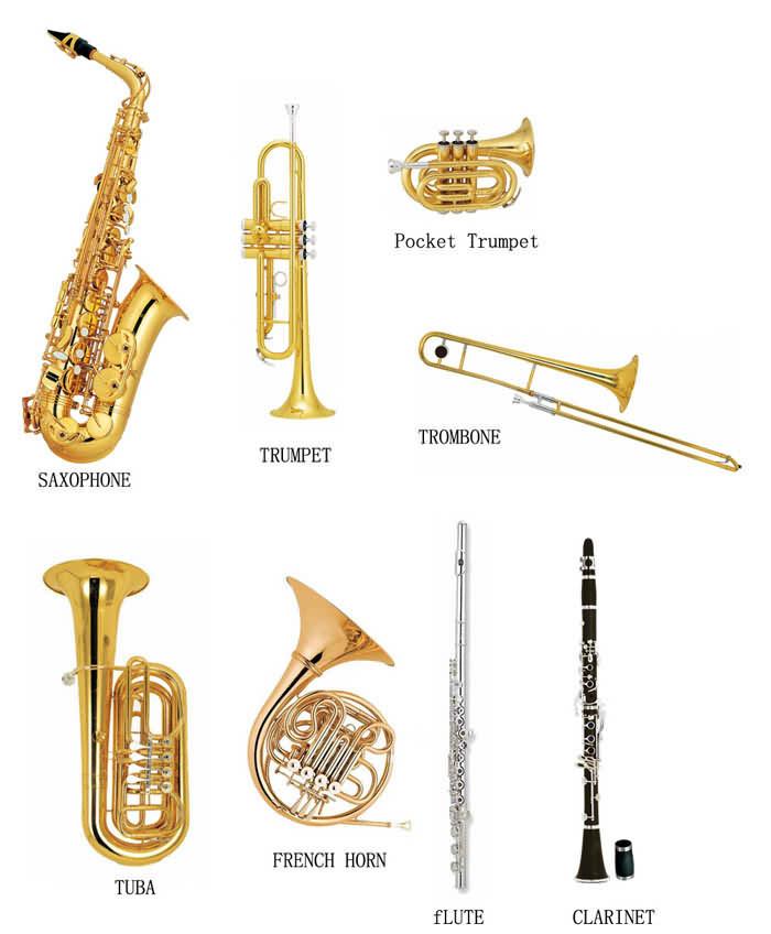 Brass Wind Instruments | www.pixshark.com - Images ...