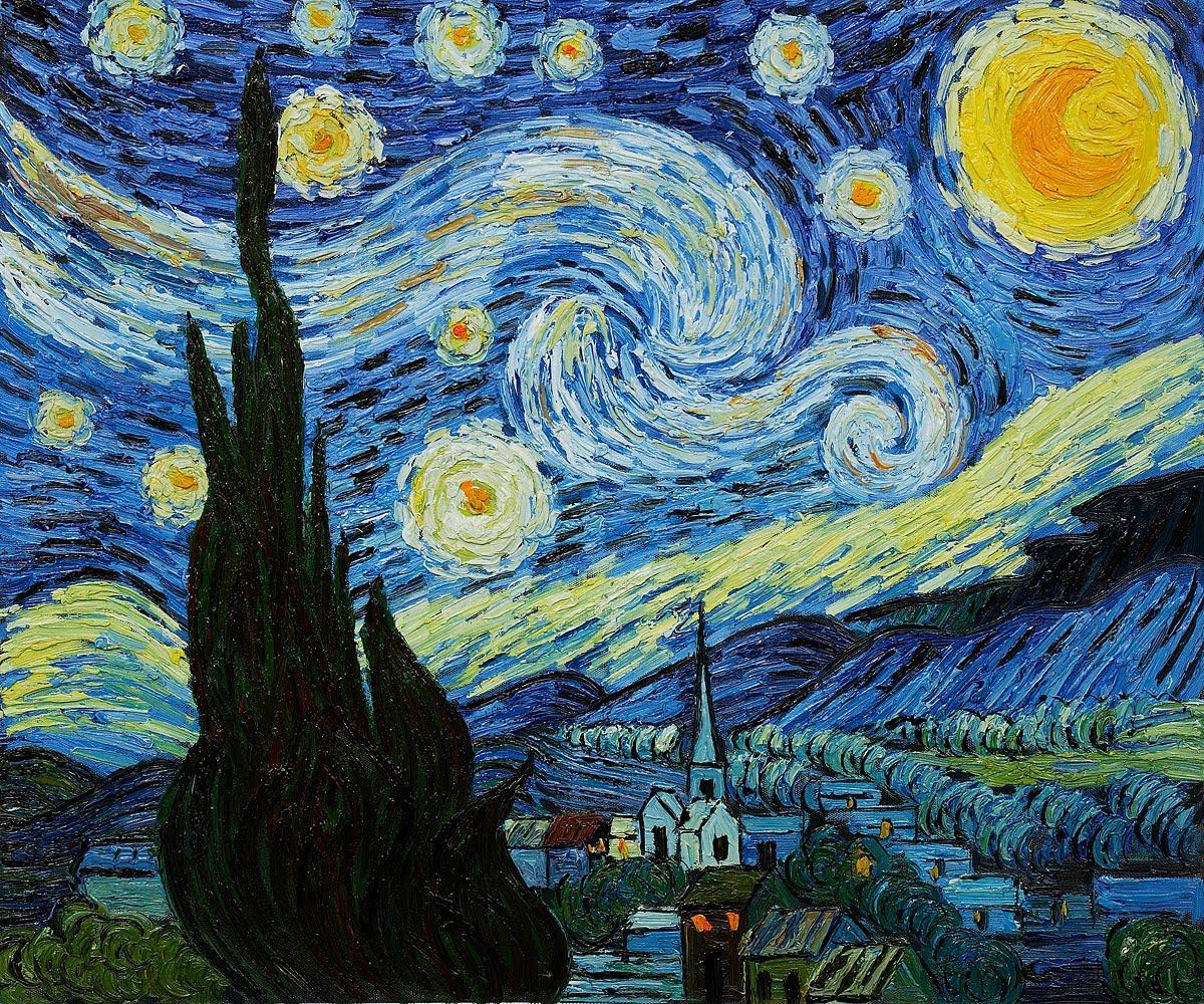 Starry Night Post Impressionism And Symbolism