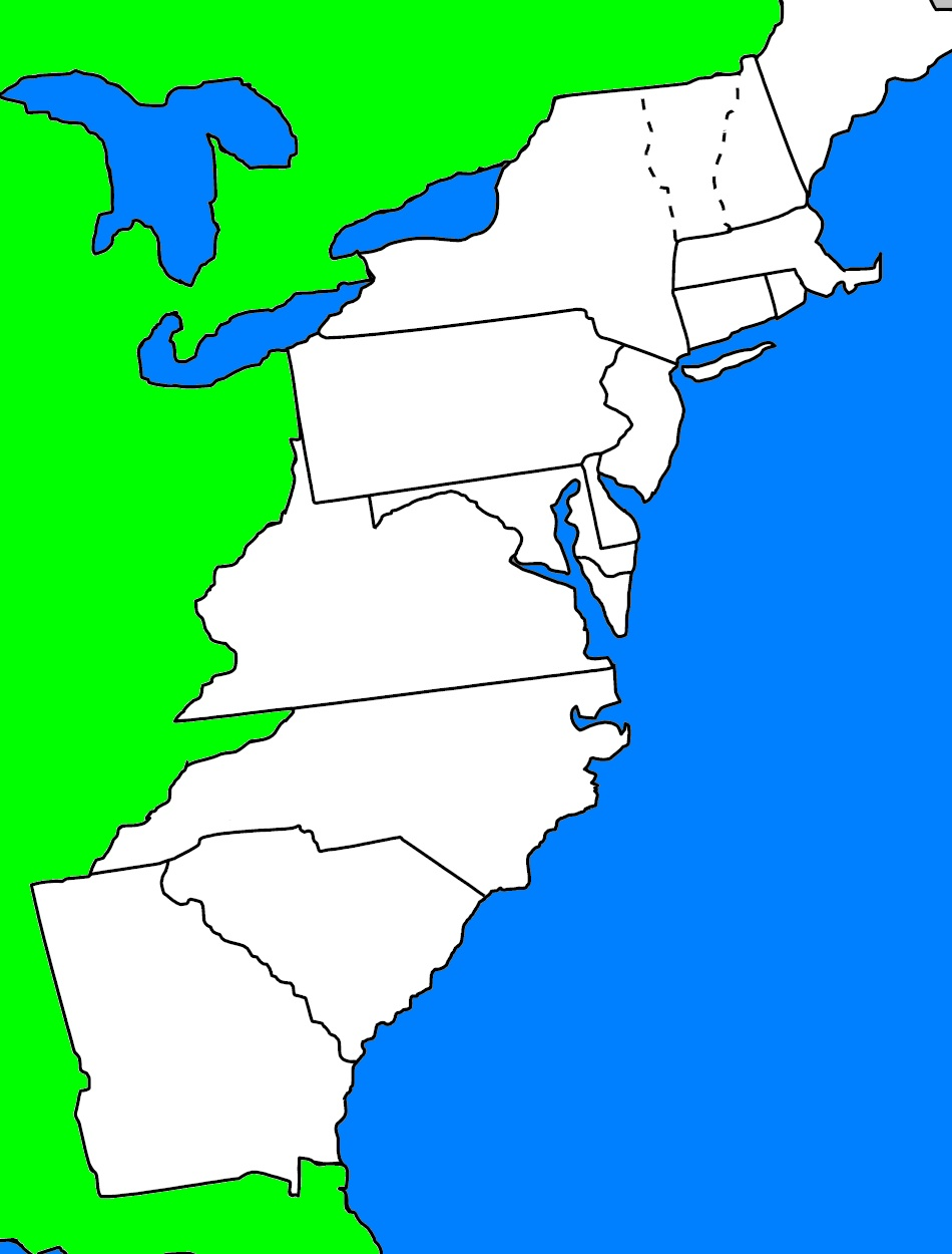 Remix Map of Virginia before 1776  ThingLink