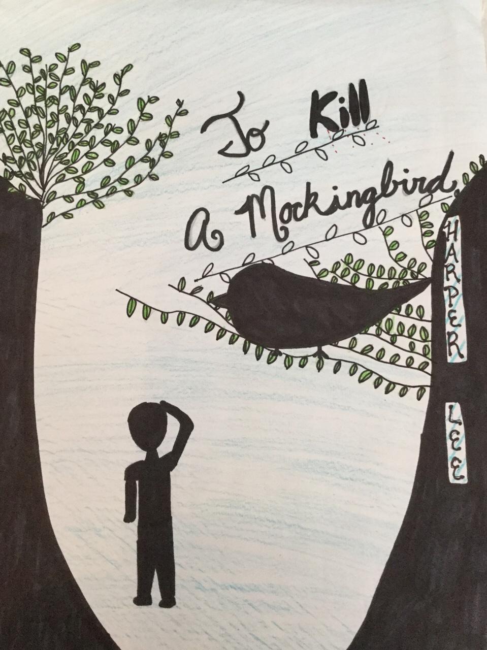 To Kill A Mockingbird Tree Drawing