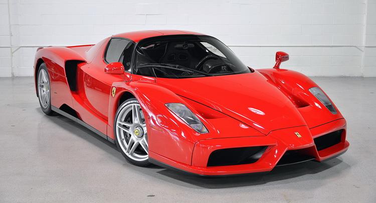 Ferrari enzo mpg