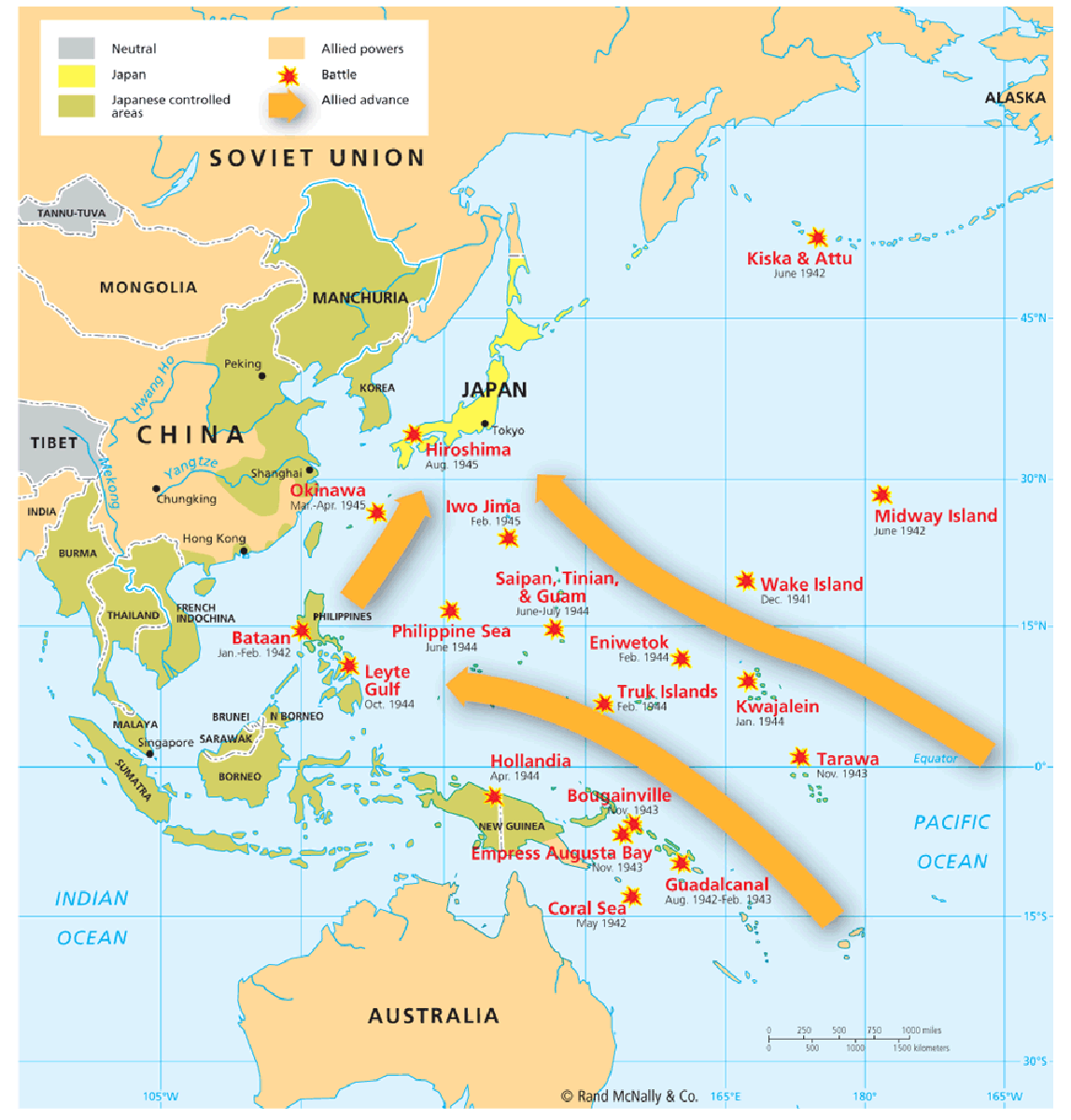 World War 2 Week 4 Pacific Theater The War in The Pacific