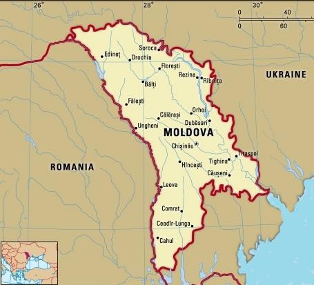 Harta Interactiva A Moldovei