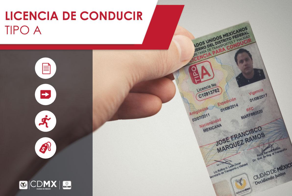 Licencia Para Conducir Tipo A