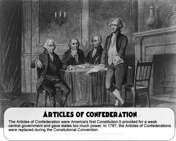 shortcomings of articles of confederation The articles of confederation was the united states' first constitution it was adopted on november 15, 1777 and ratified on march 1, 1781 the first constitution was written with little sentiment.