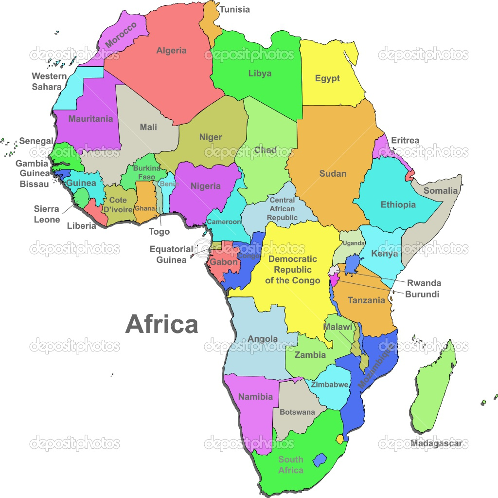 Sahara Desert Map Of Africa.Sahara Desert Is Located Here And 9 More Different Countr