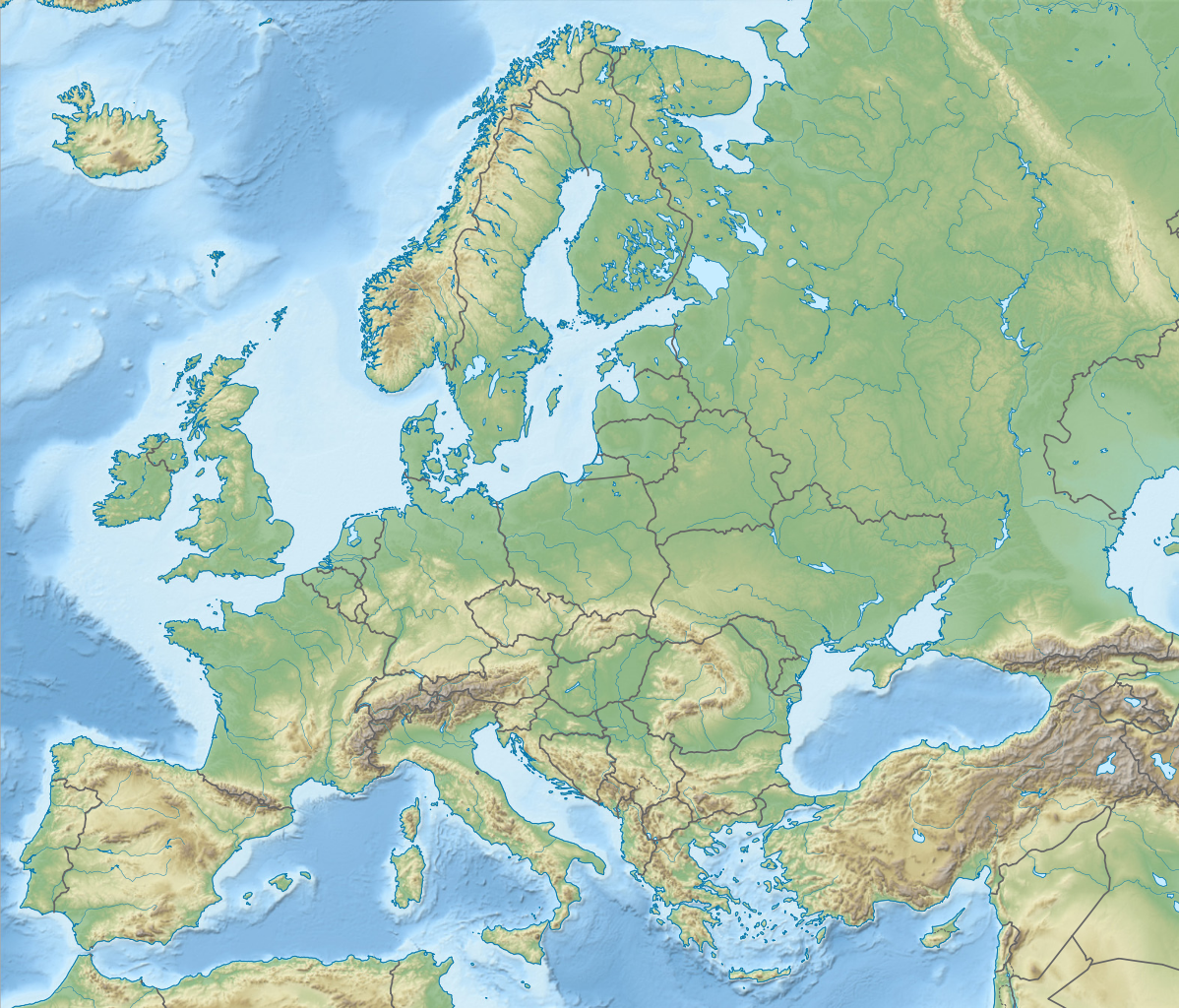 Image of: Iberian Peninsula Ural Mountains Pyrenees Mountains Al