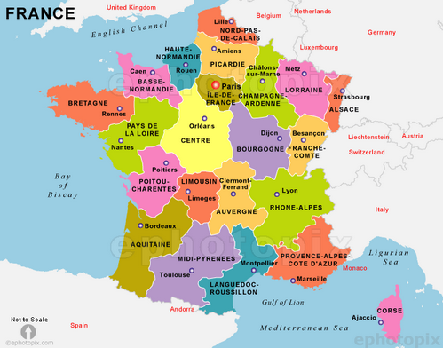 Geography of France!!! - ThingLink