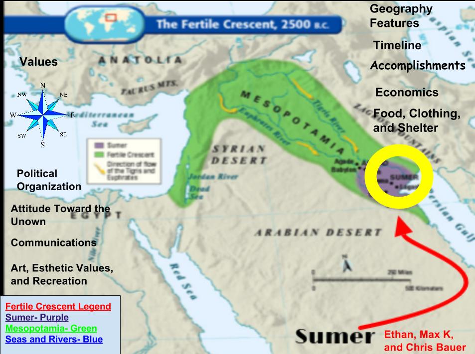 sumerian accomplishments