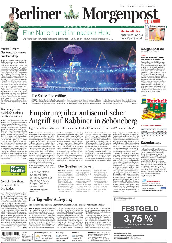 Schlagzeilen Berlin