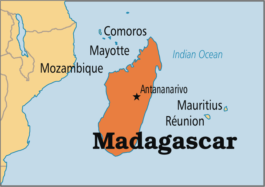 Where In The World Is Madagascar By Alisa K
