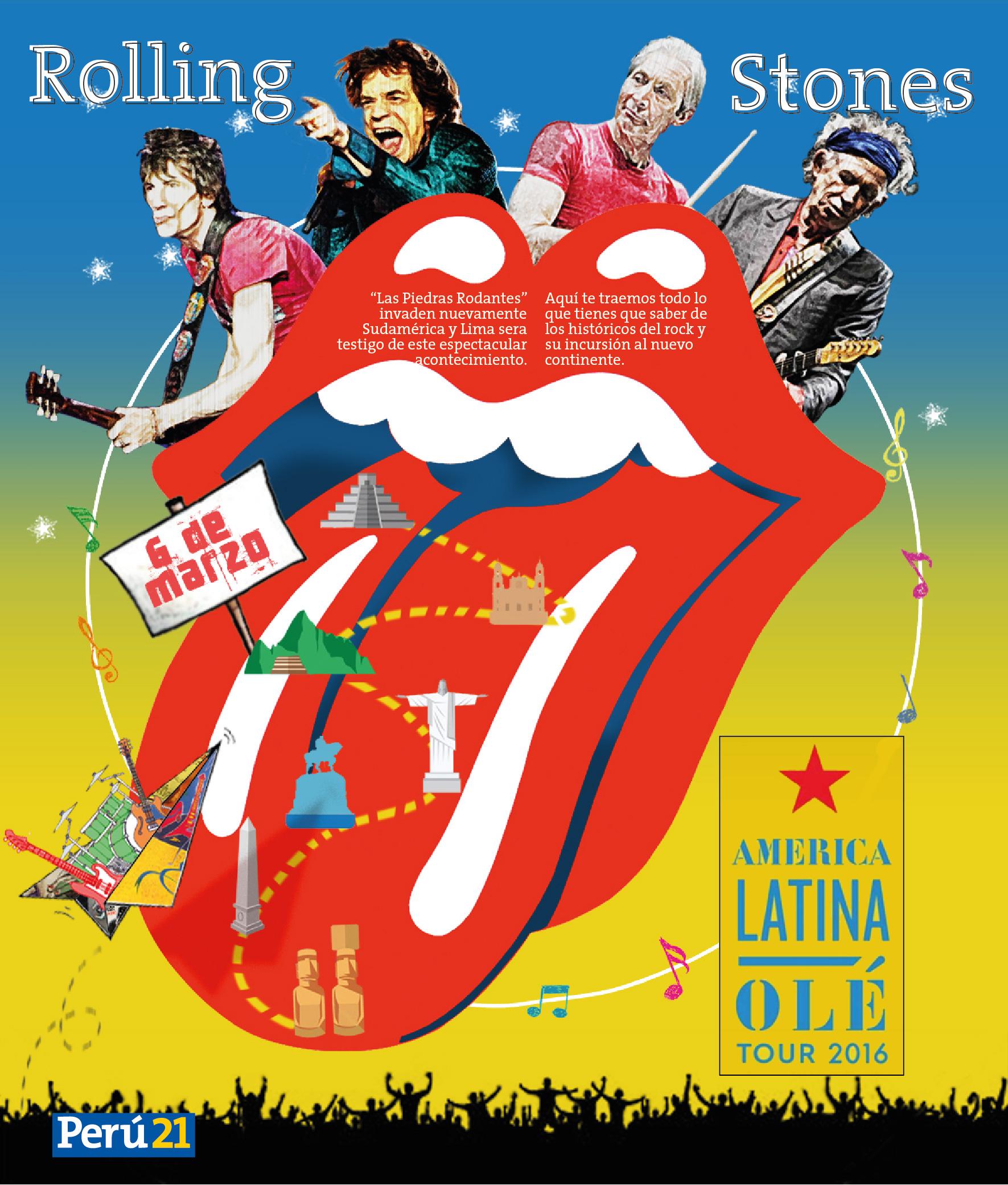 Rolling Stones: America Latina OLÉ Tour 2016