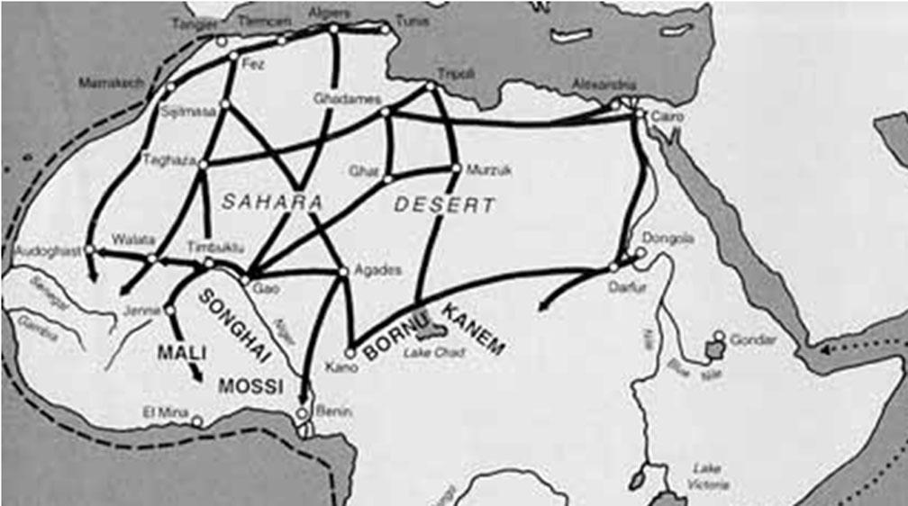 Trans-Saharan Trade (Pay it Forward) - ThingLink