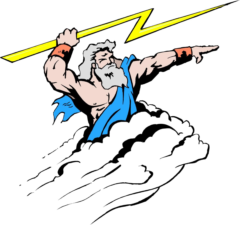 The Lightning Bolt Is One Of Zeus S Symbols