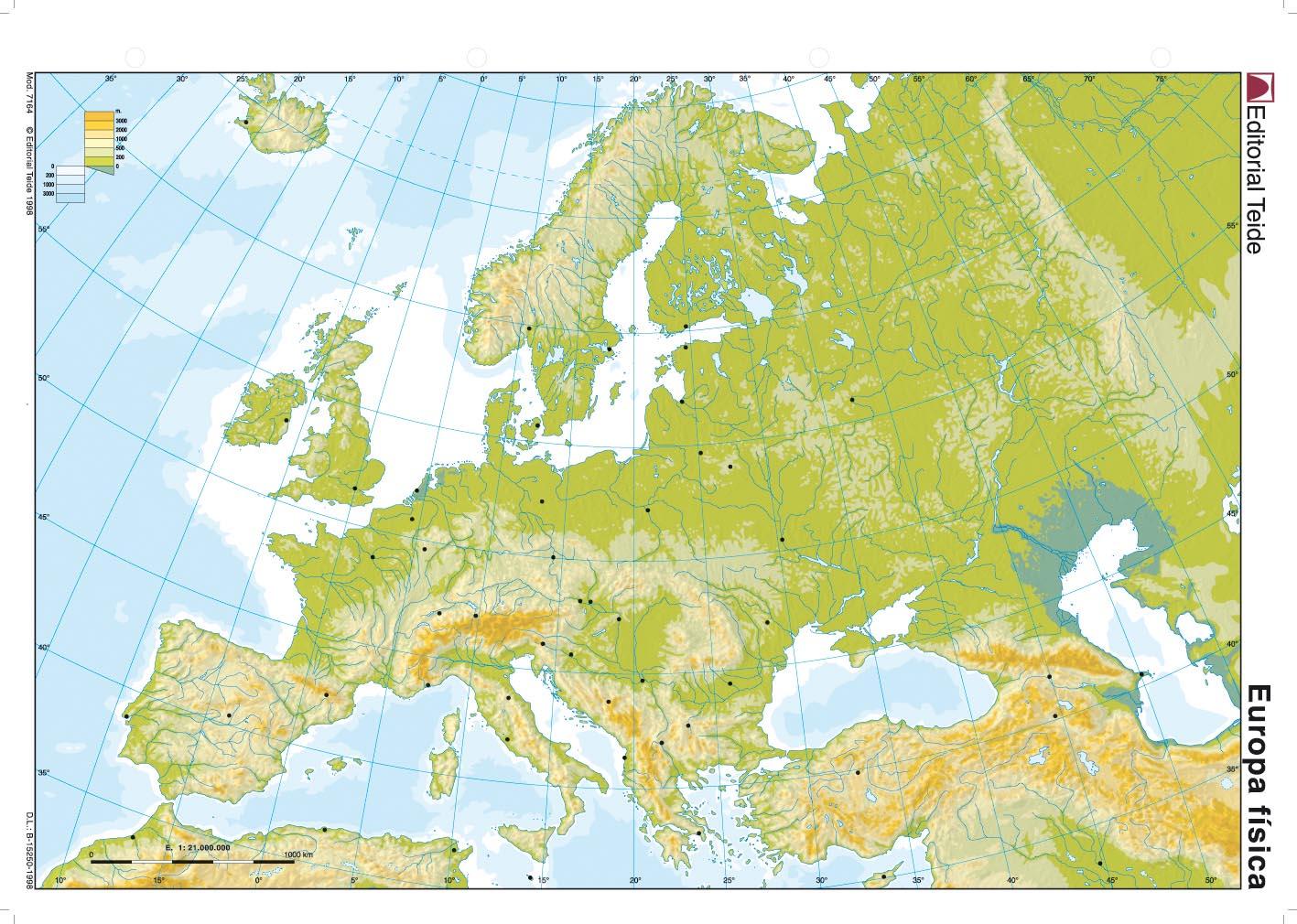 Mapa Mut D Europa.Mapa Mudo De Europa