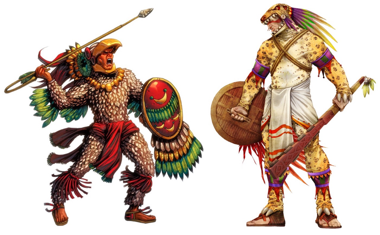 Aztec Warriors Jenna