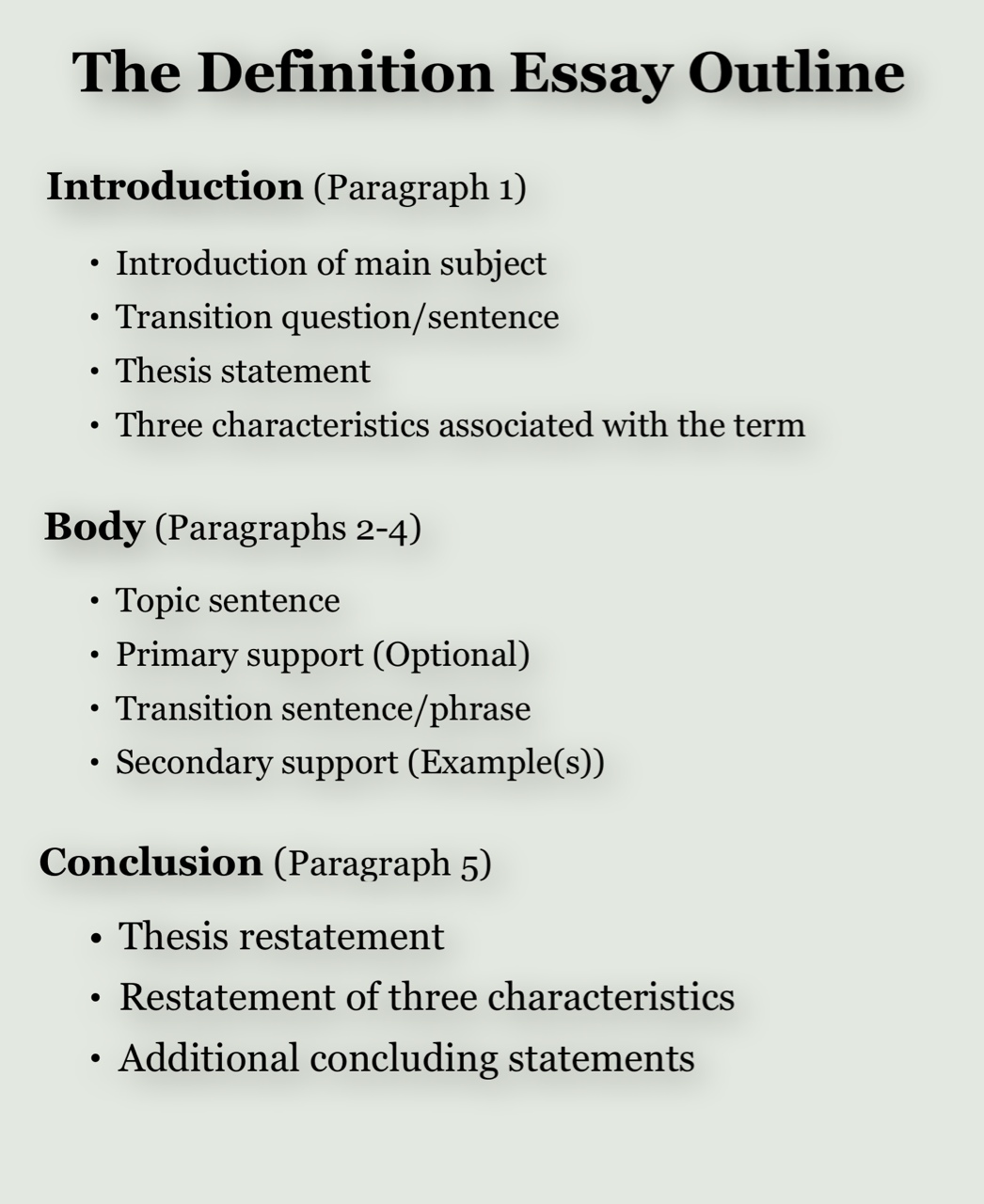 outlining essays Essay outline 11 november 2016 writing write an analytical essay: read khaled hosseini's novel, the kite runner, take thematic notes in response to the reading, and write a formal essay to.