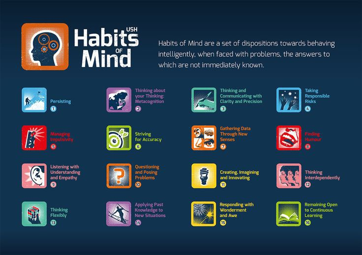 habits of mind essay History's habits of mind the national council for history education (nche) believes that historical thinking develops a unique capacity to comprehend human.