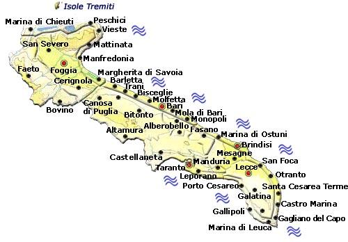 Gallipoli Cartina Puglia.La Storia Di Questi Edifici Molto Particolari E Legata A