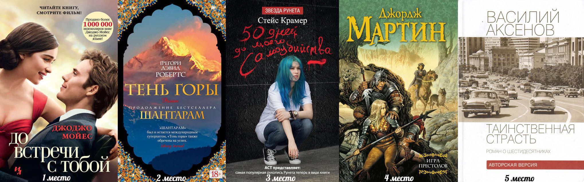 список ссмых популярных книг цены узнать распродаже