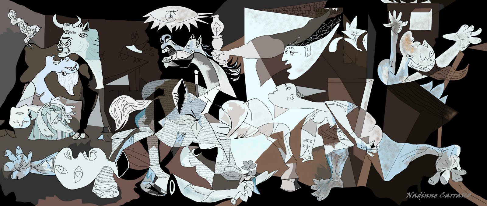 an analysis of guernica by pablo picasso