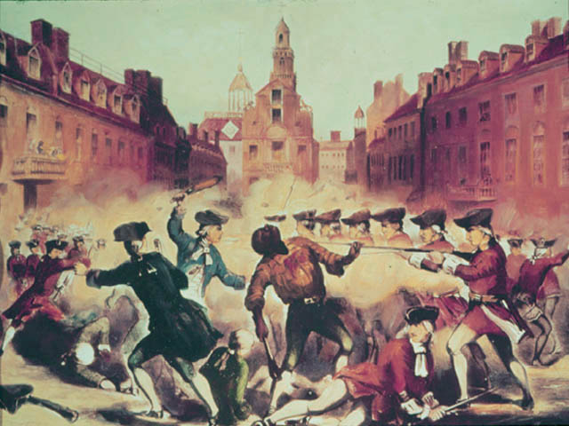 what caused the boston massacre