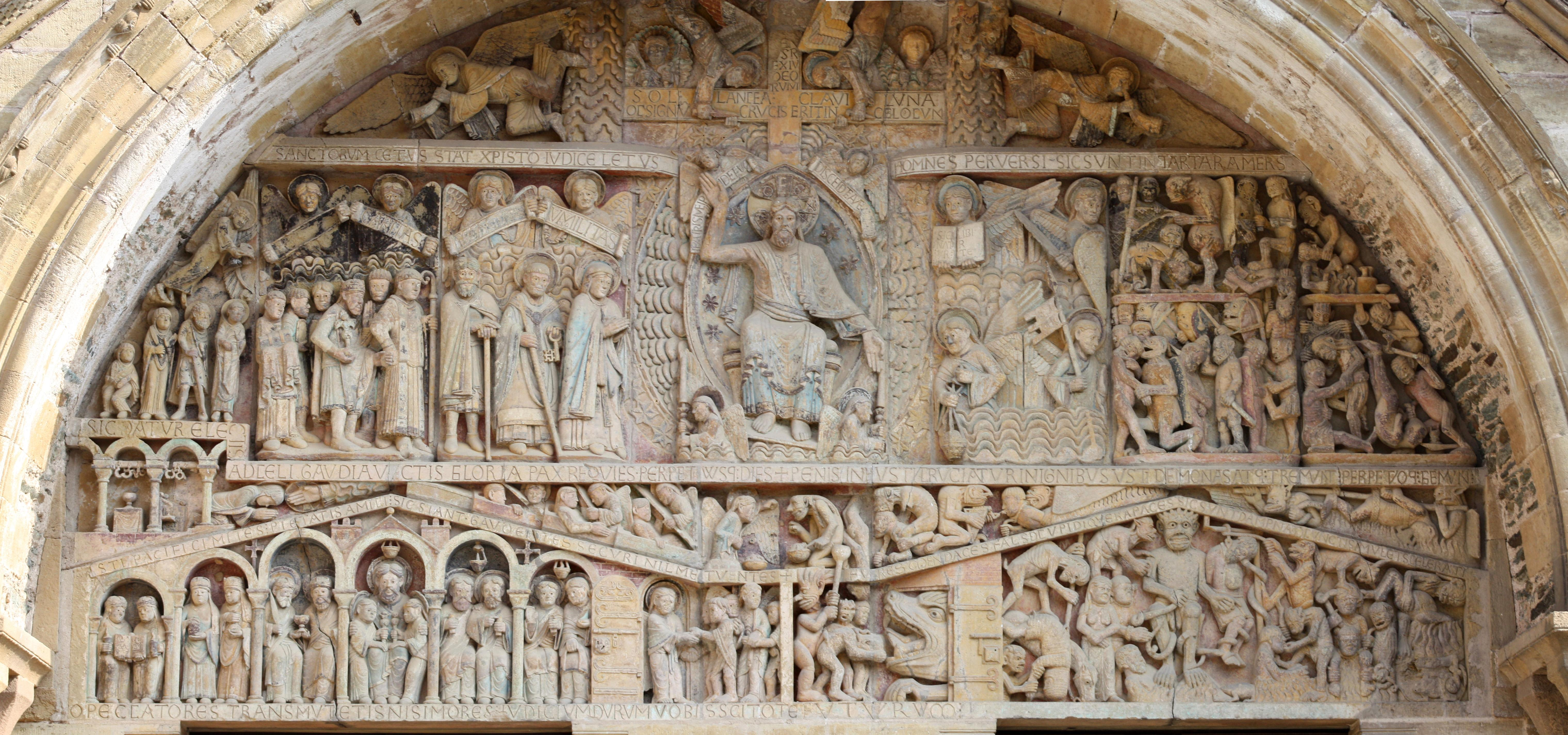 compare and contrast sainte foy and the chartres essay