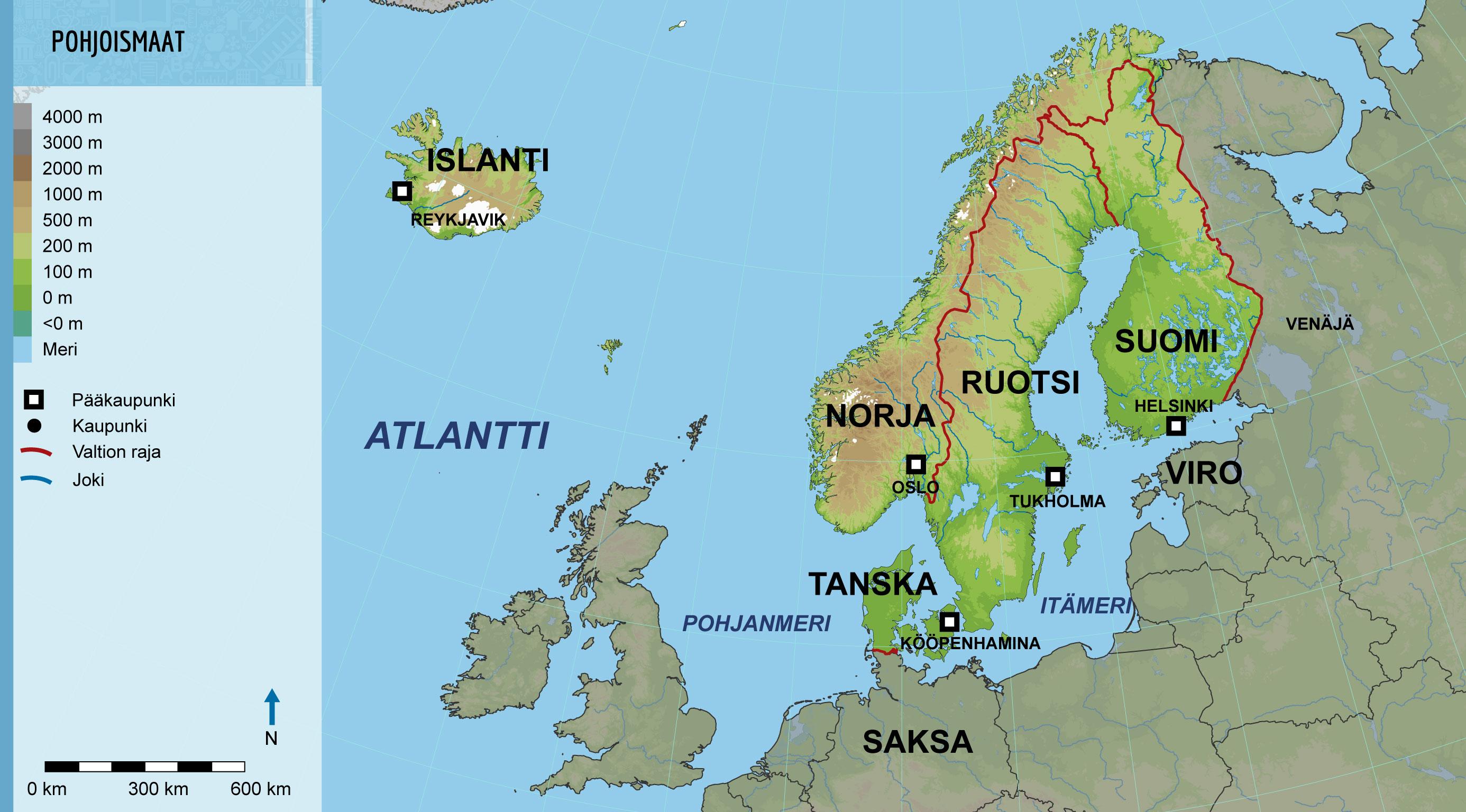 Tampere Storfors Tukholma Tallinna Marienhamina Mo I