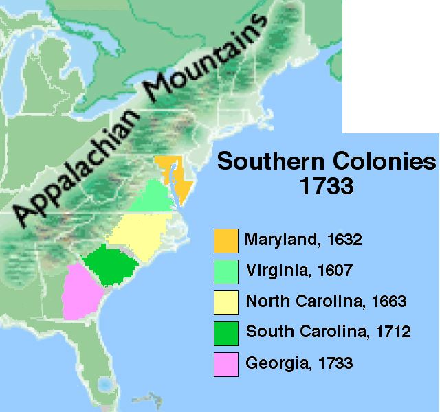 virginia changes in the economy and labor system and the southern colonies The southern colonies: plantations and slavery the southern colonies: maryland, virginia the labor system began to change.