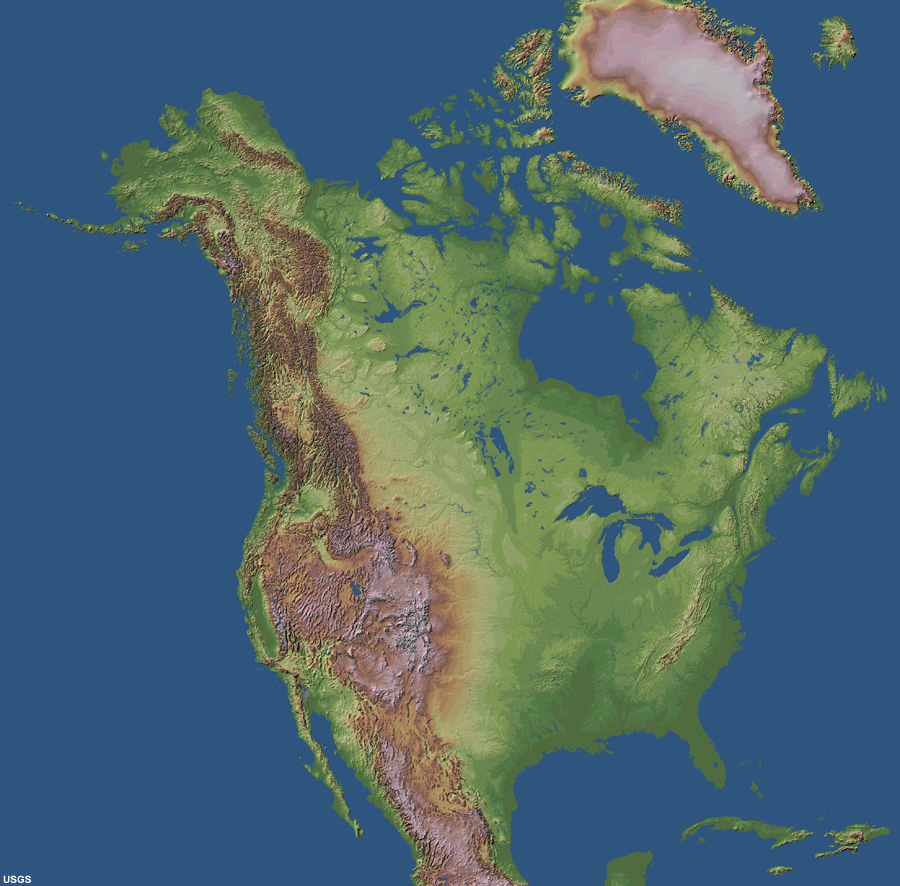 Major Physical Features Of United States And Canada ThingLink - Physical features of canada and the united states