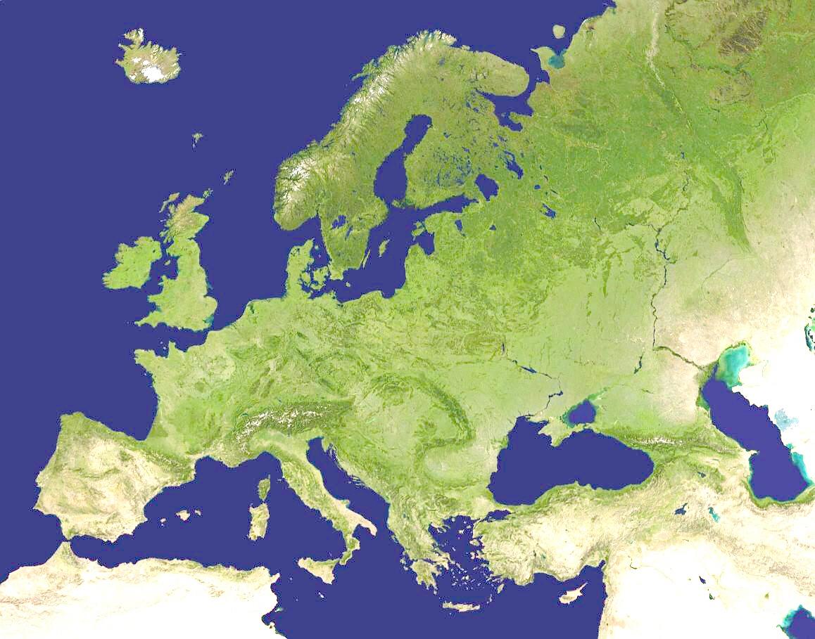Mapa Fisico De Europa Rios.Mapa Fisico De Europa Rios