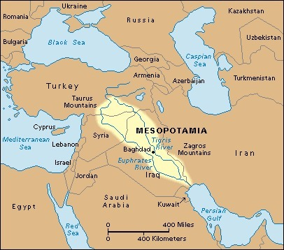 city states in lower mesopotamia