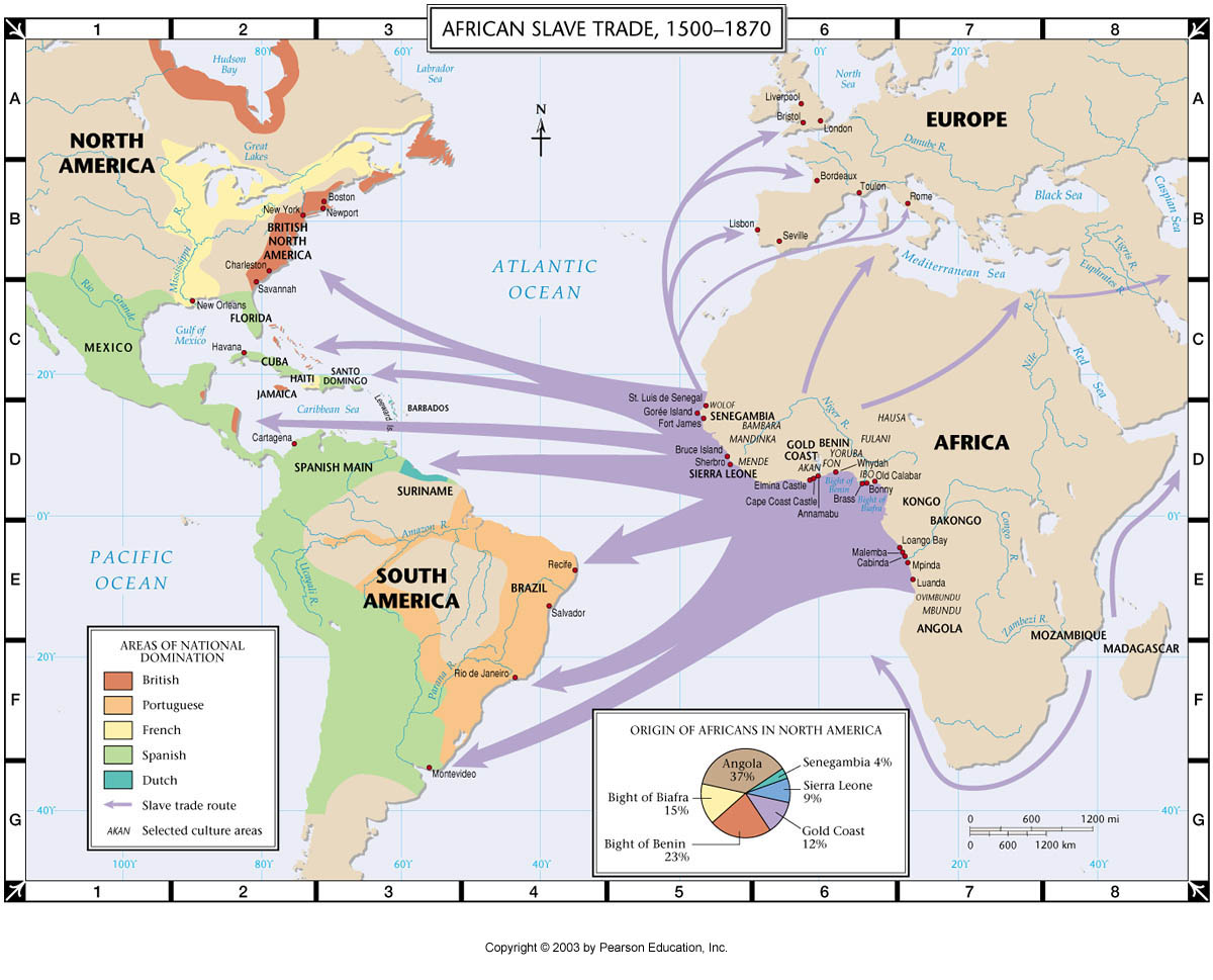 Atlantic Slave Trade Map ThingLink - Portugal map 1500