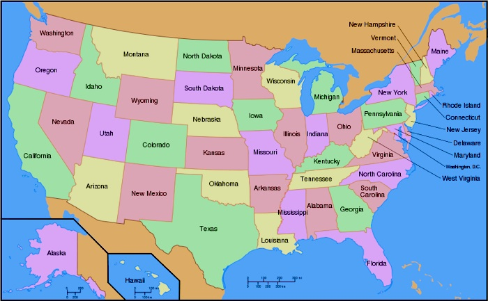 Map Of Fifty States Map Of Fifty States | compressportnederland Map Of Fifty States