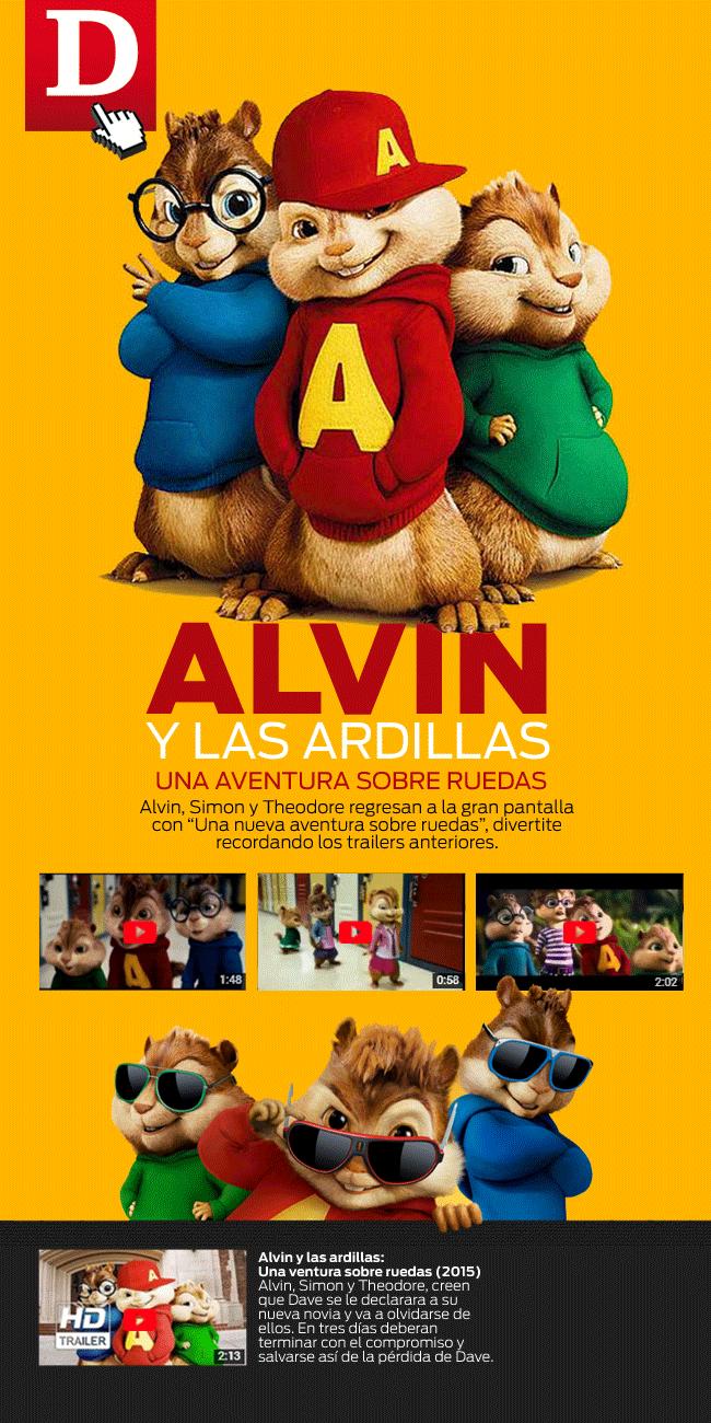 21 01 Alvin Y Las Ardillas 4 Estreno