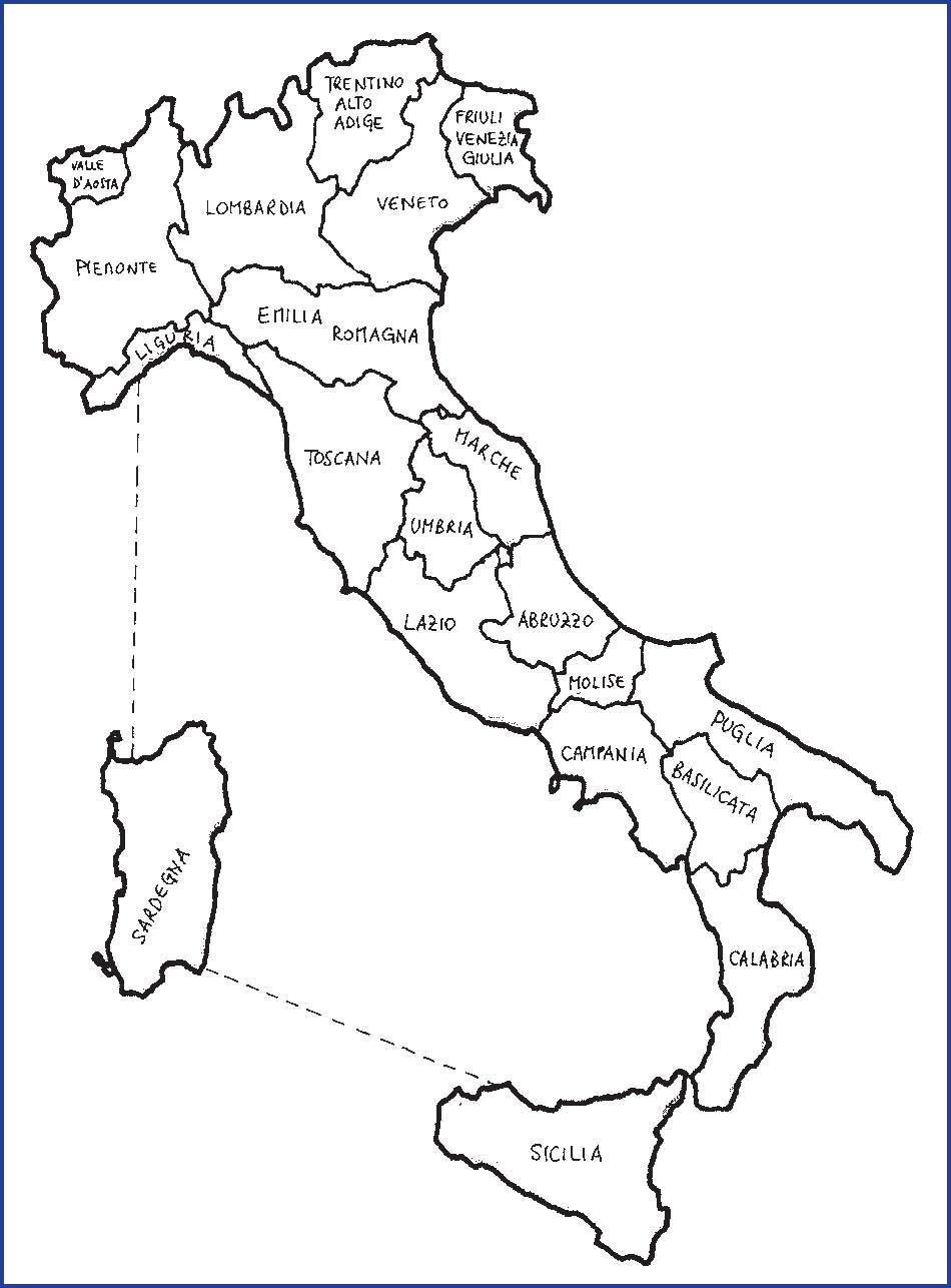 Italia Cartina Politica Da Colorare.Cartina Politica Italia Da Colorare Immagini Colorare