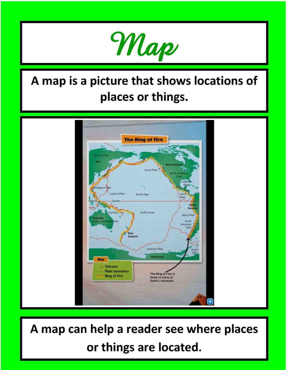 Nonfiction Text Features ThingLink – Text Feature Worksheet