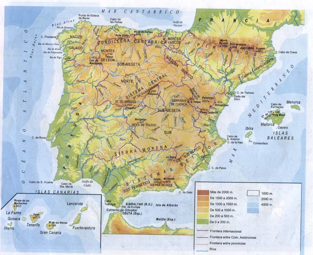 Cartina Spagna Politica E Fisica.La Spagna E La Regione Iberica Lessons Blendspace