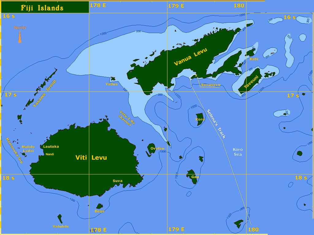 Australias Neighbour Fiji ThingLink - 4 oceans names