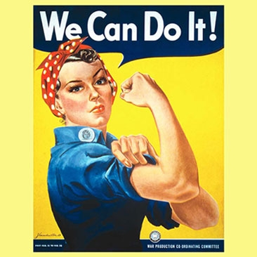 we can do it poster meaning