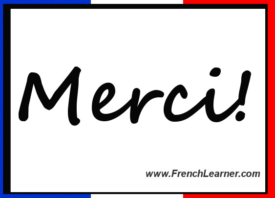 merci means thanks in french http www google com url