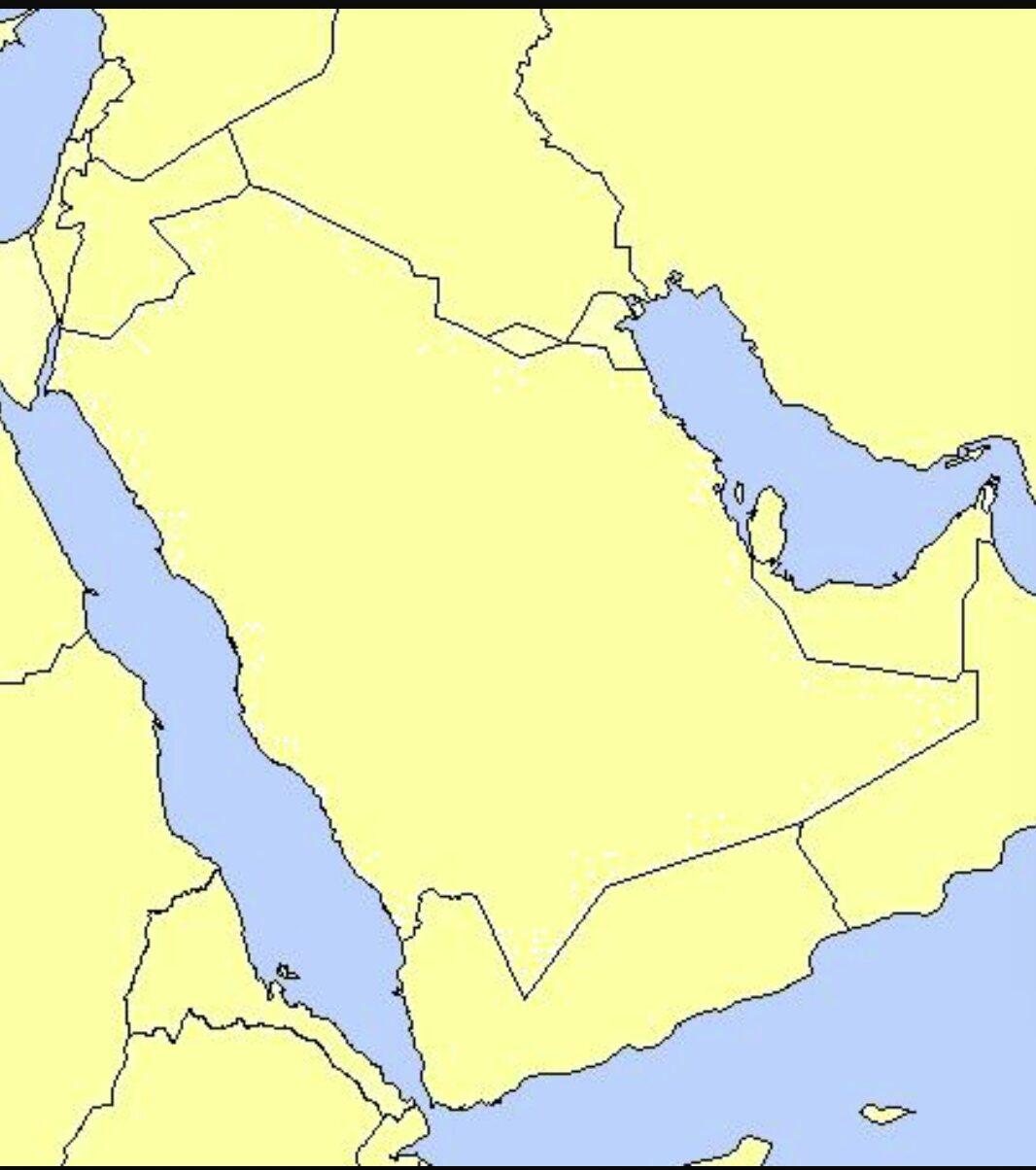 خريطة مجلس التعاون