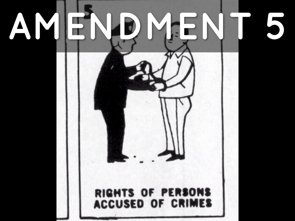 Amendment 5 Right Of The Accused No Double Jeopardy Rig