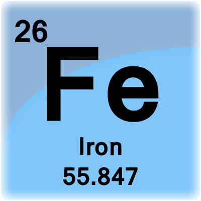Iron periodic table napma iron symbol in periodic table gallery of elements urtaz Images