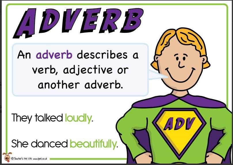 School House Rocks Adverbs Adjective Adverb Trail Adv Thinglink