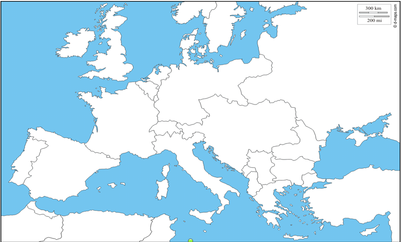 Remix Of Map Of Europe 1914