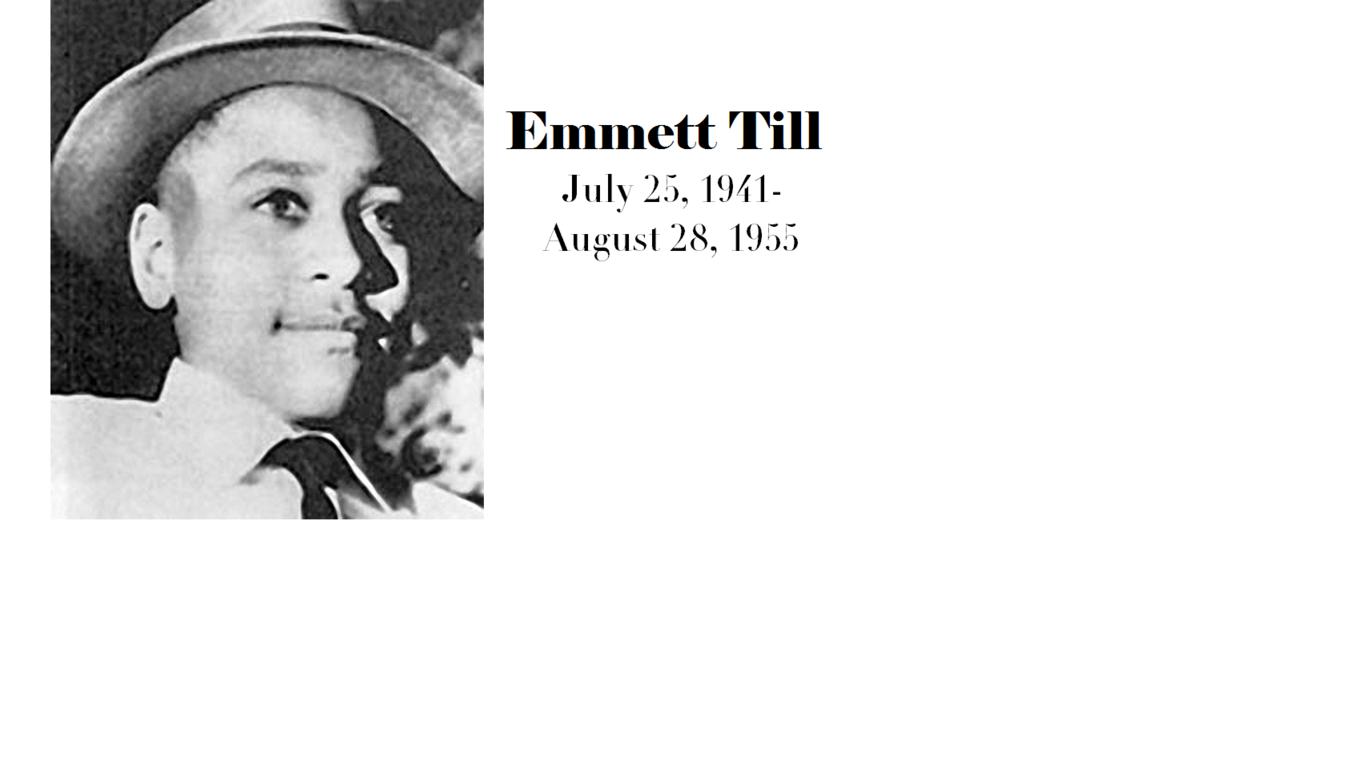 Emmett Louis Bobo Till Chicago 25 luglio 1941 Money 28 agosto 1955 era un ragazzo afroamericano che venne brutalmente assassinato per motivi razziali nella