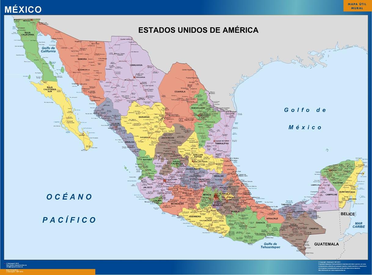 Mapa De Mexico ThingLink - Mapa de mexico